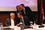 حضور تجار و کارآفرینان ایرانی در نشست ظریف با ۳ وزیر صربستان