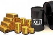 قیمت نفت کاهش و طلا افزایش یافت